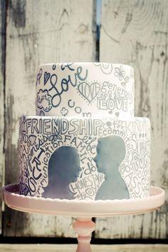 Graffiti Wedding Cakes
