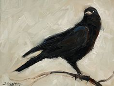 Expressionist Crow – Painting Lesson by Tim Gagnon Studio. In this lesson I show you how to paint an expressive painting of a crow/raven. This lesson is about 40 minutes long. Visit Tim Gagnon Studio at http://www.timgagnon.com/lessons/expressionist-crow-painting-lesson/ for more information and online lessons.