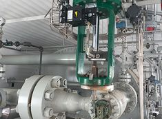 Most oil and gas production facilities use a choke to control the flow of fluids produced from wells. Equipment such as line heaters and wellsite separators contain a choke. Energy Resources, Oil And Gas, Wells, Flow, Industrial, Industrial Music, Wels