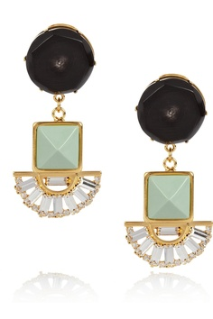 Marni crystal clip earrings im dying over :O