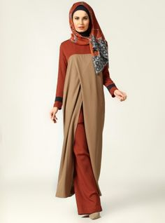 Wrap Sleeveless Tunic - Minc - Tuva By Burcu Aslan
