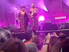 AMADOU et MARIAM (extraits concert) aux escales de st nazaire août 2013