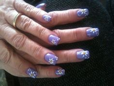 Vicki's Daisy Nails at Angels Nail & Spa in Searcy Ar. 2/27/13