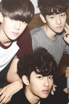 EXO Sehun, Baekhyun, Kyungsoo #EXO #CheerUpEXO #1000DaysWithEXO