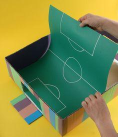 Juegos caseros futbolin