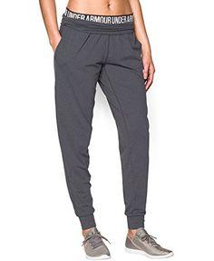 Under Armour Women's UA Downtown Knit Jogger XL (US 16) X 30 PHANTOM GRAY   AMAZON.COM saved by #ShoppingIS