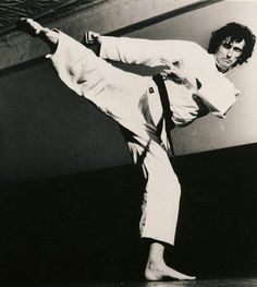 Aaron Banks GM karateka and Black Belt Editor