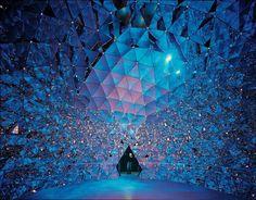 Swarovski Factory In Innsbruck, Austria   swarovski crystal room