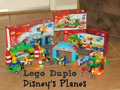 Lego Duplo Toy Review | Jake and the Neverland Pirates & Disney's Planes