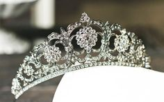 Hey, I found this really awesome Etsy listing at https://www.etsy.com/listing/189956506/victorian-bridal-tiara-swarovski-crystal