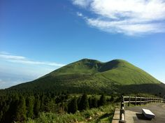 Mt.Aso Crater trace