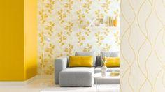 Ambiance Tapeten - Schlichte Eleganz in glanzvollen Farben