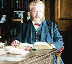Some wise words on a problem that is very widespread & multi-faceted. (pic: Spurgeon-at-desk)
