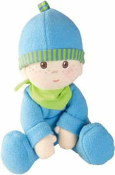HABA Snug Up Doll, Luis by Haba. $19.99. Dimensions: approx. 20 cm.. Thanks to the soft filling not only are they nice to cuddle but also can easily be made to sit up. Sewn-on bonnet. Ages 0+ Months. These snuggle dolls are just so lovable and love to snuggle up with their little owners. These snuggle dolls are just so lovable and love to snuggle up with their little owners. Thanks to the soft filling not only are they nice to cuddle but also can easily be mad...