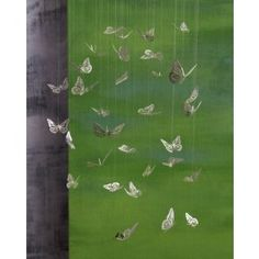 Butterfly mobile, by Roost Modern Store, Butterfly Mobile, Shops, Hanging Mobile, Beautiful Butterflies, Paper Butterflies, Blue Bird, Decorative Accessories, Home Furnishings