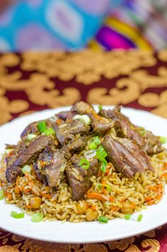 1000+ images about Plov awesomeness on Pinterest | Meat, Dishes and ...