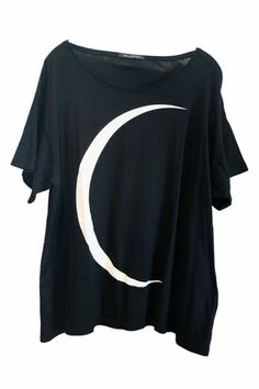 wildfox crescent moon t - the trend boutique This would be a great birthday present for yours truly in a month. ..coughcough