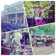 Preparing for Outdoor Wedding at Westfields Marriott. Indian Catering. Outdoor Wedding. #AminShelat