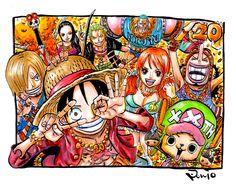One Piece, Strawhat Pirates