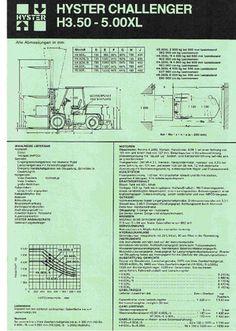 a gas Hyster H 4.00 XL/5