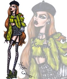 Hayden Williams Fashion Illustrations — The Sesame Street collection by Hayden Williams:...