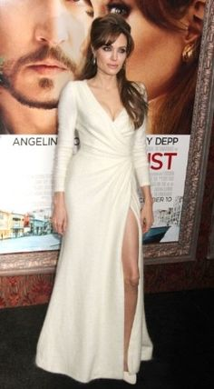 I am obsessed with this Versace Angora dress. She is stunning
