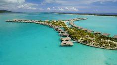 St Regis Bora Bora Water Villas Bungalows French Polynesia Desktop Background 336469 : Wallpapers13.com