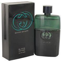 Gucci Guilty Black by Gucci Eau De Toilette Spray 3 oz