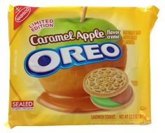 REVIEW: Nabisco Limited Edition Caramel Apple Oreo Cookies | The Impulsive Buy