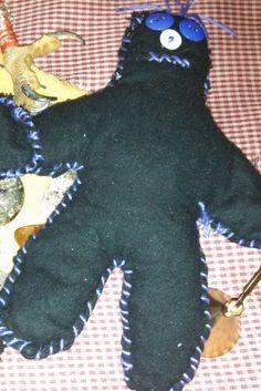 Binding Poppet Voodoo Hoodoo Conjure Voodoo by HonoringMotherEarth