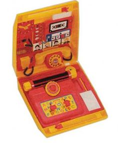 Petite Office Activity Set - 80s Toys and Games, Roleplay | Stuff from the 80s