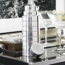 Ralph Lauren Monogrammed Top Cocktail Shaker!