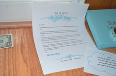 Tooth Fairy Magic. Letters from the tooth fairy. Tooth fairy ideas