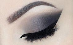 ♡ Grey Smokey Eye with Nude Lips ♡ Make Up Tutorial (English)