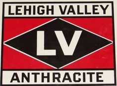 Sign for Lehigh Valley Anthracite.