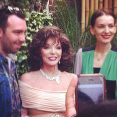 2012.05.23  Joan Collins celebrates her 79th birthday, and meets the Queen!