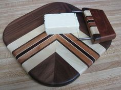 Cheese Board with Wire Knife - by nonickswood @ LumberJocks.com ~ woodworking community