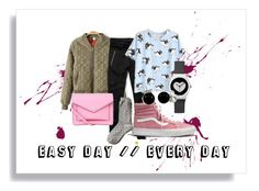 """easy day // every day"" by maria-addison on Polyvore"