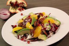 Radicchio Avocado Salat