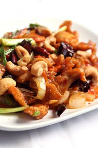 chicken and cashew stir fry salad