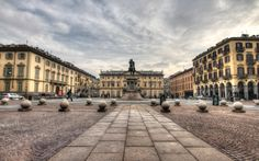 Piazza Bodoni #torino #turin #piemonte #lamiatorino Photocredit Flickr Francesco Urso @chicco_u