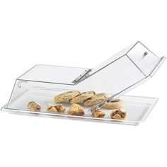 Cambro RD1826CWH Camwear Clear Dome Display Cover with Hinged Lid - 18 x 26 -- Unbelievable product is here! : baking gadgets