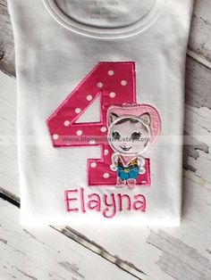Personalized Birthday Number Sheriff Callie Shirt or by bloomnbows