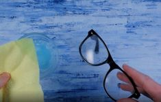 Check out these ways to remove those scratches and gunk from your glasses for good. Glasses Frames, Eye Glasses, Remove Super Glue, Baby Oil Uses, Scratched Glasses, Eyeglass Lenses, Baby Shampoo, Simple Life Hacks, Reading Glasses