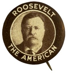 Theodore Roosevelt, 26th President of the United States (1901-1909). Photo by Pach Brothers, c1904 May 11. Library of Congress Prints and Photogra…