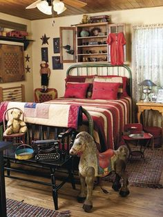 1000 images about bedroom decor on pinterest americana for Americana bedroom ideas