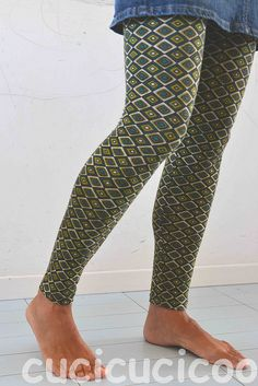 How to draft a customized pattern for leggings, pants, trousers, shorts