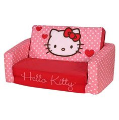 This is one of my favorites on totsy.com: Hello Kitty Sleeper Sofa
