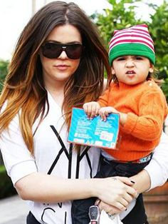 Aunt Khloe Kardashian bonds with Mason