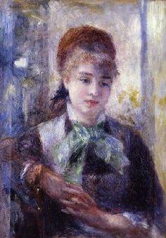 Pierre-Auguste Renoir - Portrait of Nini Lopez